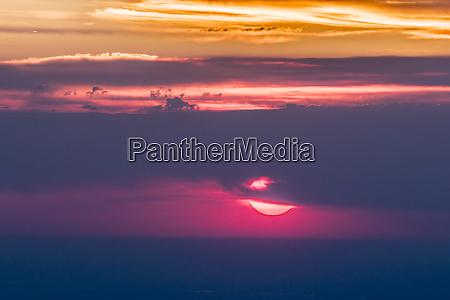usa colorado mt evans smoky sunrise