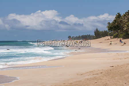 sunset beach north shore oahu hawaii
