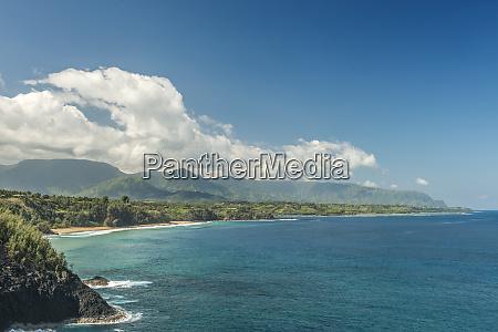 hawaii kauai northshore from kilauea lighthouse