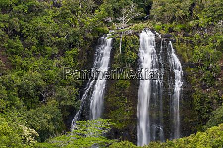 opaekaa falls kauai hawaii
