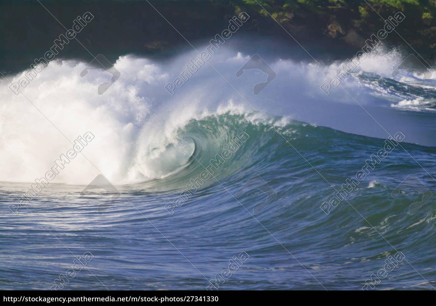 pacific, storm, waves, , north, shore, of - 27341330
