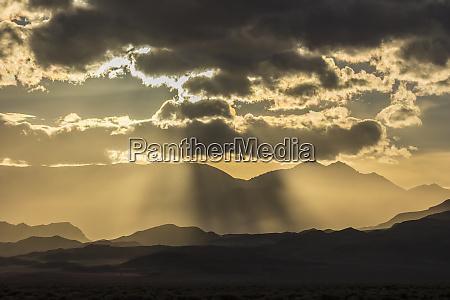 usa nevada white mountains sunset over