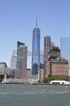 one world trade center manhattan skyline