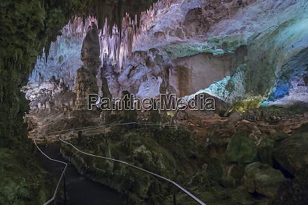 usa new mexico carlsbad caverns scenic