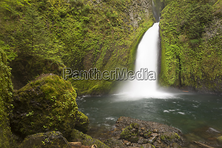 usa oregon columbia river gorge wahclella