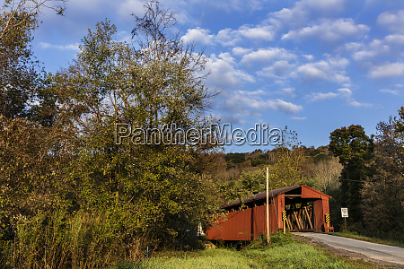 kidwell covered bridge built in 1880