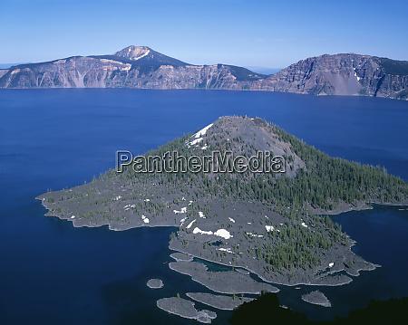 usa oregon crater lake national park