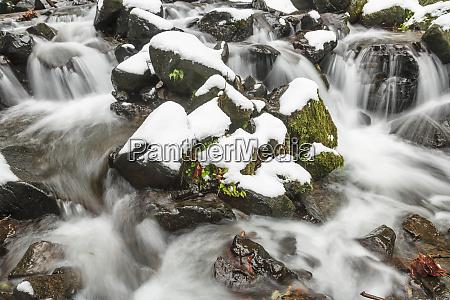starvation creek near sandy columbia gorge