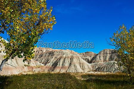 usa south dakota wall badlands national
