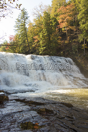 usa tennessee cane creek cascades in