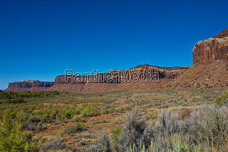 usa utah canyonlands national park needles
