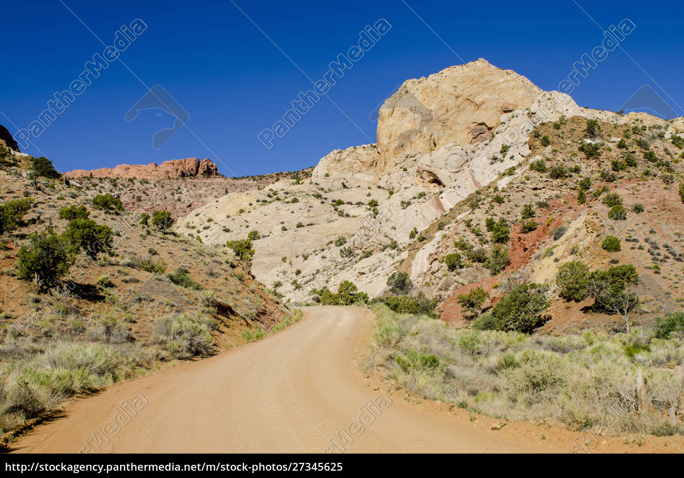 burr, trail, road, , capitol, reef, national - 27345625