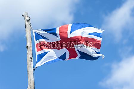usa virginia jamestown british flag