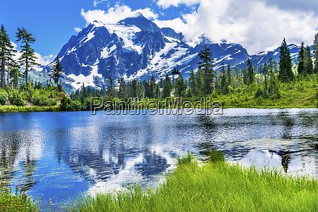 picture lake mount baker highway washington