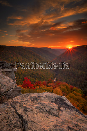 usa west virginia blackwater falls state