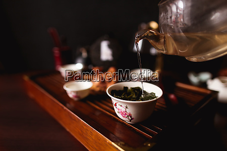 the traditional chinese tea ceremony soft