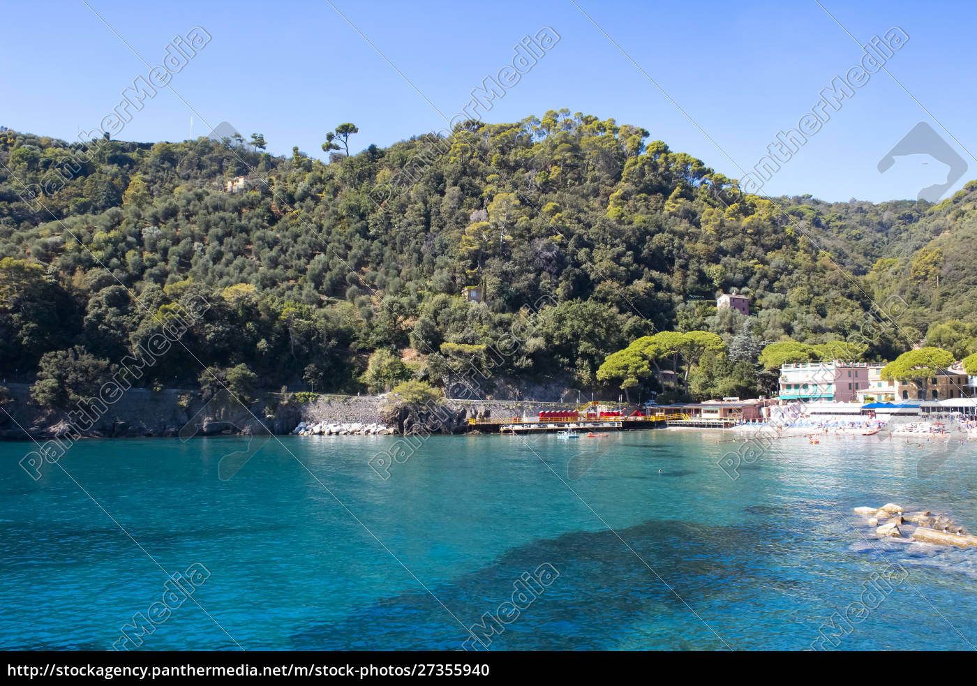 beach, known, as, paraggi, near, portofino - 27355940