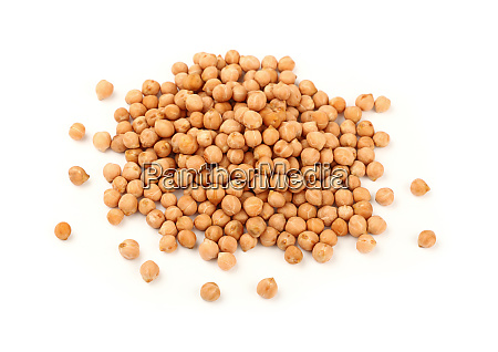 close up heap of chickpea beans