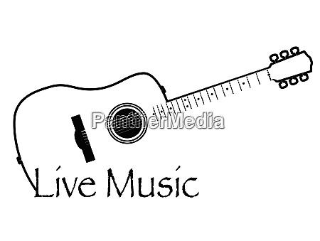 live music acoustic guitar