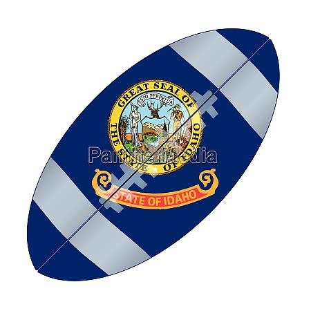 idaho state usa football flag