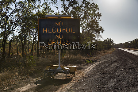 no alcohol no drugs digital road
