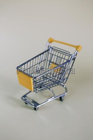 tiny toy shopping cart