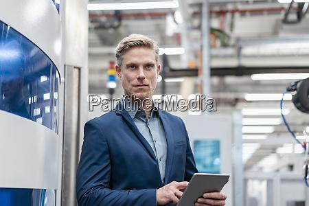 portrait of a confident businessman with