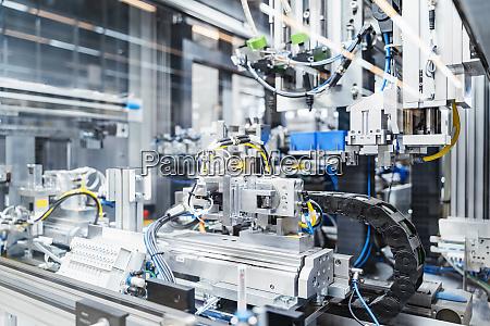 intricate machinery inside modern factory stuttgart