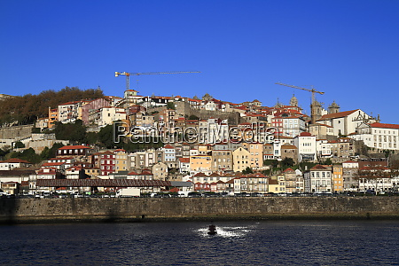 panoramic view of old town of