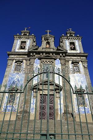 church of saint ildefonso porto portugal