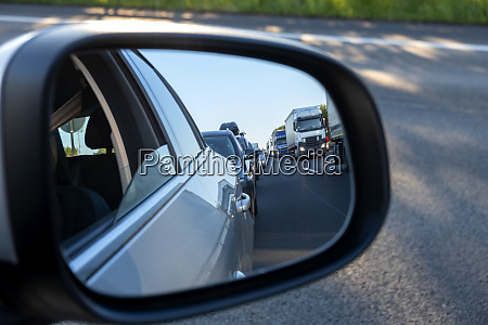 wing mirror rescue lane cars and
