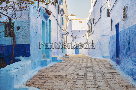 the old city of chefchaouen with