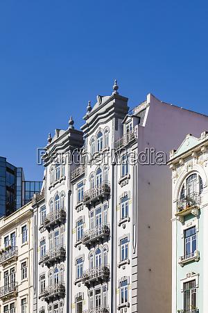 portugal lisbon art deco buildings