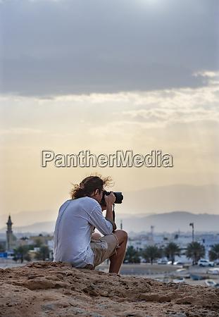 photographer photographing sur oman