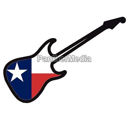 texan electric guitar