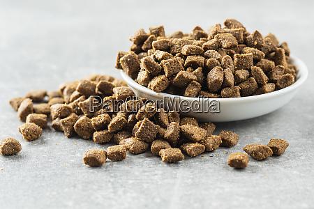 dry pet food kibble dog or