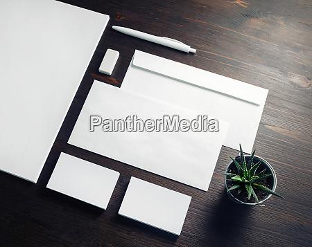 business stationery mock up