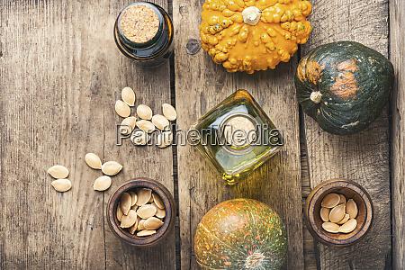 natural pumpkin seed oil