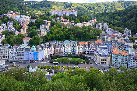 world famous spa town karlovy vary