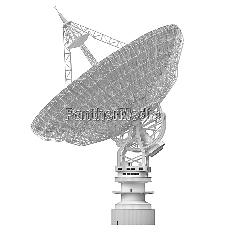 antenna satellite dish clipping path included