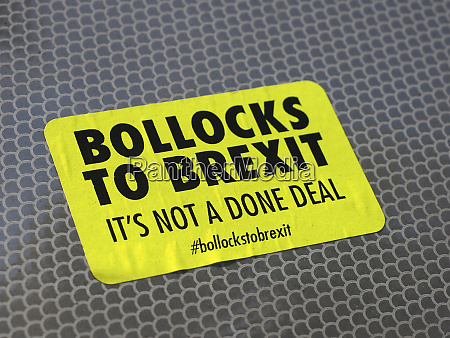 bollocks to brexit its not a