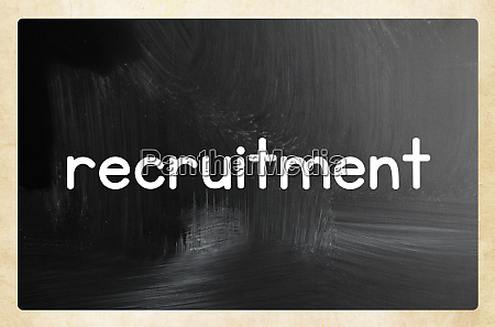 recruitment concept