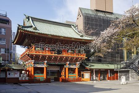kanda myoujin shrine in tokyo japan