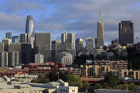 skyline san francisco california united states