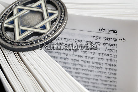torah and star of david two