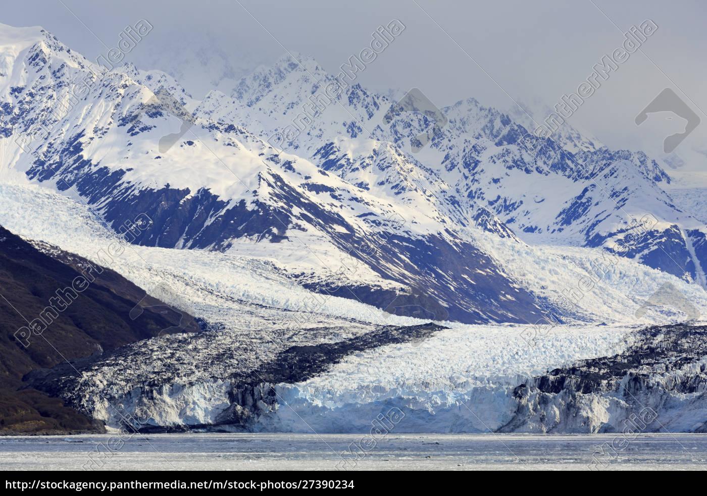 harvard, glacier, in, college, fjord, , southeast - 27390234