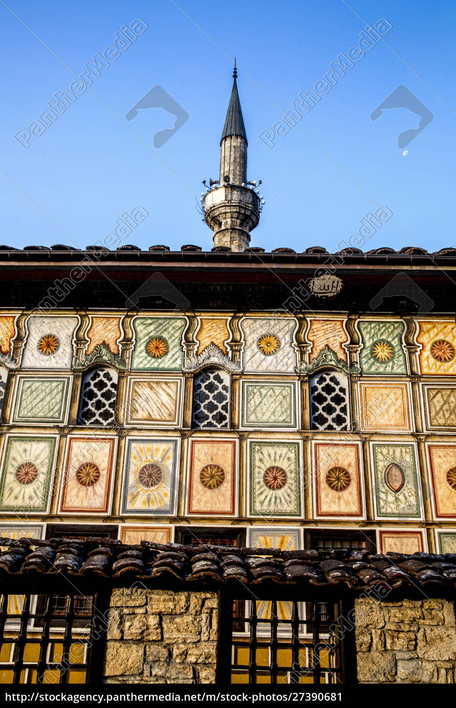 pasha, mosque, , the, painted, mosque, of - 27390681
