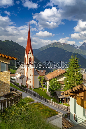 view of finkenberg church finkenberg tuxertal