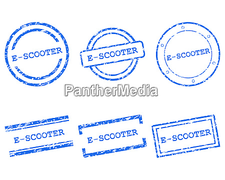 e scooter stamps