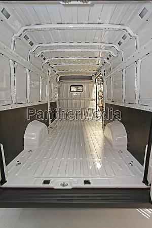big delivery van